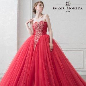 イサムモリタのカラードレスのご紹介